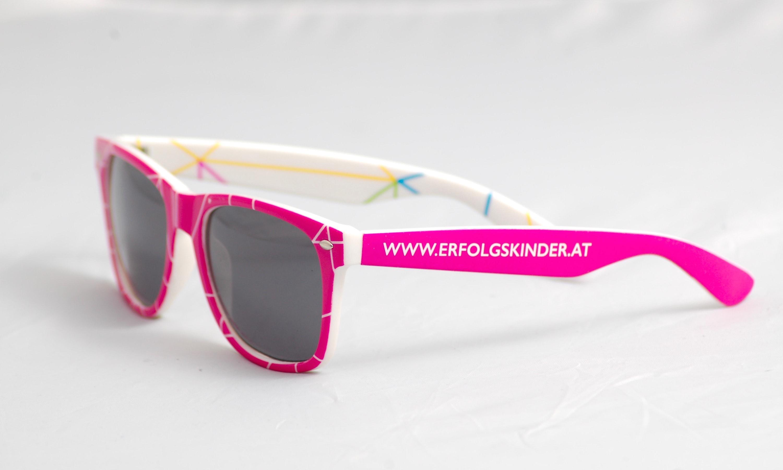 bedruckte Sonnenbrille mit Logo selbst gestalten & selbst designen   Werbeartikel   Promobrille